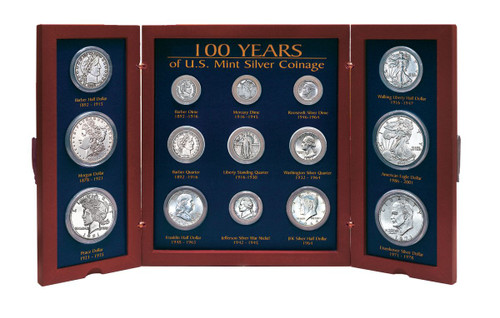 Collector's 100-Years of U.S Mint Coin Designs - Actual Authentic Collectable - Photo Museum Store Company