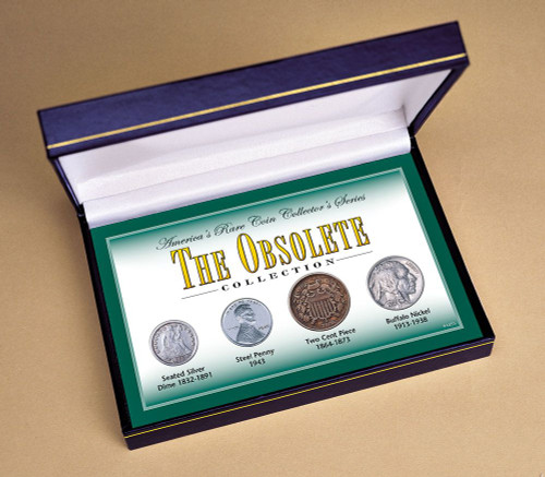 Collector's America's Rare Coin Collector's Series - Obsolete Collection - Actual Authentic Collectable - Photo Museum S
