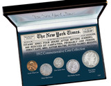 Collector's New York Times Titanic 1912 Commemorative Coin Collection - Actual Authentic Collectable - Photo Museum Stor
