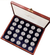 Collector's Complete Walking Liberty Half Dollar Collection - Actual Authentic Collectable - Photo Museum Store Company