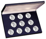 Collector's Peace Silver Dollar Collection - Actual Authentic Collectable - Photo Museum Store Company
