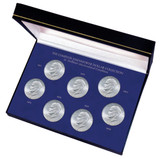 Collector's Complete Eisenhower Dollar Collection in Brilliant Uncirculated Condition - Actual Authentic Collectable - P