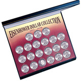 Collector's Eisenhower Dollar Collection - Actual Authentic Collectable - Photo Museum Store Company