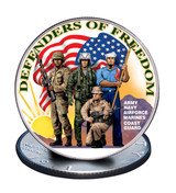 Collector's Defenders of Freedom Eisenhower Dollar - Actual Authentic Collectable - Photo Museum Store Company