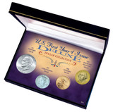 Collector's U.S. First Year of Issue Deluxe Dollar Collection - Actual Authentic Collectable - Photo Museum Store Compan
