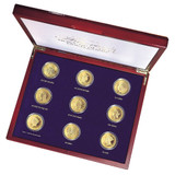 Collector's Tribute to Americas Most Beautiful Gold Coins - Set of 9 - Replica Coins - Photo Museum Store Company