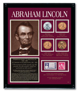Collector's Lincoln Framed Tribute Collection - Actual Authentic Collectable - Photo Museum Store Company
