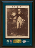 Collector's New York Times George Washington Commemorative - Actual Authentic Collectable - Photo Museum Store Company