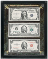 Collector's Historic U.S. Currency Collection - Actual Authentic Collectable - Photo Museum Store Company