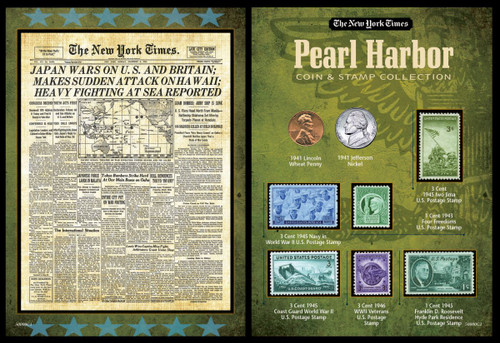Collector's New York Times Pearl Harbor Portfolio - Actual Authentic Collectable - Photo Museum Store Company