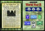 Collector's The New York Times World War II Coin & Stamp Collection - Actual Authentic Collectable - Photo Museum Store