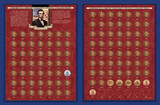 Collector's America's Great Lincoln Penny Collection 1909-2011 (including the 1922 Lincoln Penny) - Actual Authentic Col