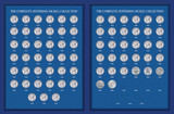 Collector's Complete Jefferson Nickel Year Collection 1938-2010 - Actual Authentic Collectable - Photo Museum Store Comp