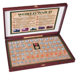 Collector's Complete World War II Coin Collection - Actual Authentic Collectable - Photo Museum Store Company