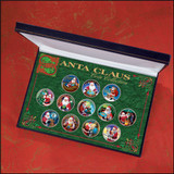 Collector's Santa Claus Coin Collection - Actual Authentic Collectable - Photo Museum Store Company