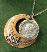 Collector's silver pendant