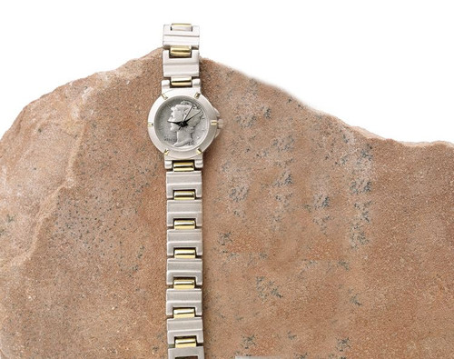 Collector's Silver Mercury Dime Magnetic Coin Watch - Actual Authentic Collectable - Photo Museum Store Company