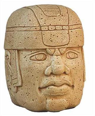 Antiquities of the Americas » Pre Columbian Art |Olmec Head Necklace
