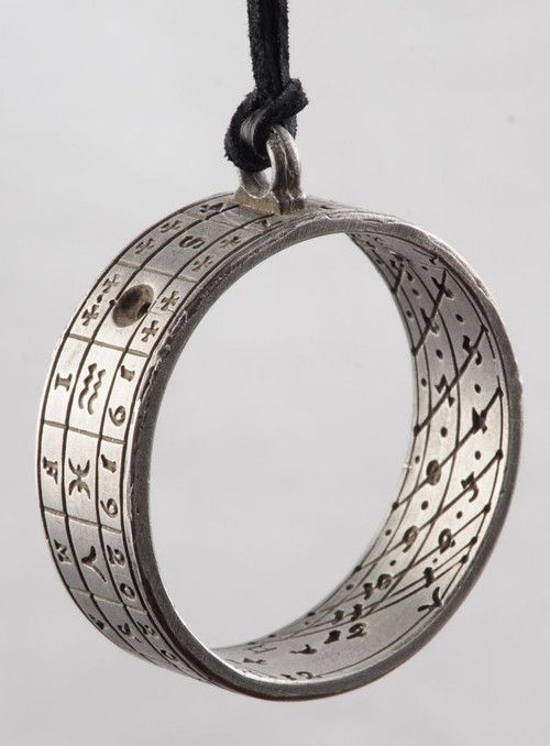 Prussia Sundial Ring Pendants - Dresden, 1704 - Photo Museum Store Company
