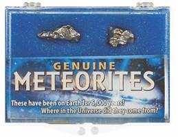 Meteorite Box - Campo Del Cielo 2,200 BC, Chaco, Argentina - Actual Authentic Meteorite - Photo Museum Store Company