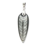 Orthoceras  Fossil Pendant - Atlas Mountains, Morocco - Actual Authentic Fossil - Photo Museum Store Company