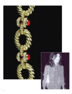 Jacqueline Jackie Kennedy Collection - Rope Link Bracelet - Photo Museum Store Company