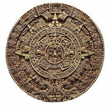 Aztec Solar Calendar - Antropological Museum, Mexico City. 1500 A.D. (10) - Photo Museum Store Company