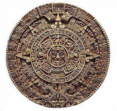 Aztec Solar Calendar - Antropological Museum, Mexico City. 1500 A.D. (10) - Photo Museum Store Company
