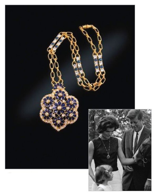 Jacqueline Jackie Kennedy Collection - Grand Tour Necklace - Photo Museum Store Company