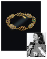 Jacqueline Jackie Kennedy Collection - The Royal Egg Bracelet - Photo Museum Store Company