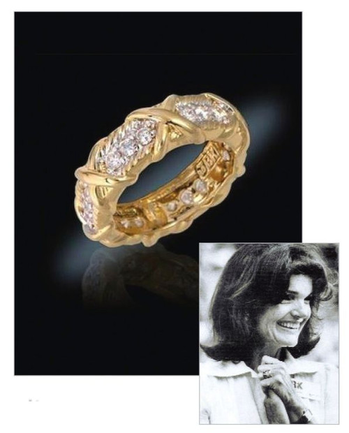 Jacqueline Jackie Kennedy Collection - The Unity Ring - Photo Museum Store Company
