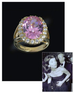 Jacqueline Jackie Kennedy Collection - The Kunzite Ring - Photo Museum Store Company