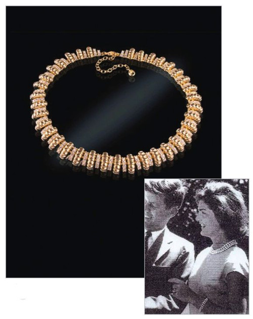 Jacqueline Jackie Kennedy Collection - Signature Necklace - Photo Museum Store Company