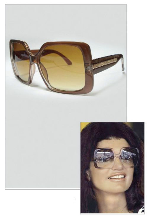 Jacqueline Jackie Kennedy Collection - Classic Square Sunglasses - Photo Museum Store Company