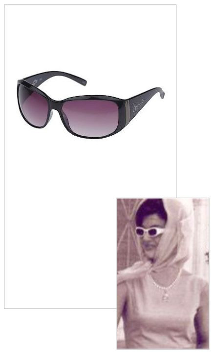 Jacqueline Jackie Kennedy Collection - Jackie Wrap Sunglasses - Photo Museum Store Company