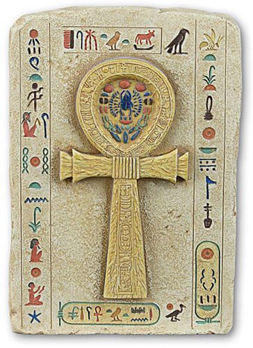 Ankh Relief, Hand Color Detailed - Photo Museum Store Company