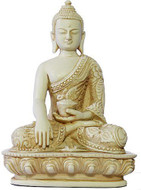 Sakyamuni Buddha, Earth Touching Pose, Stone Finish - Photo Museum Store Company