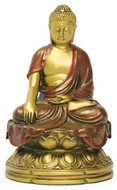 Chinese Buddha Statue, Earth touching pose - Photo Museum Store Company