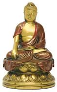 Chinese Buddha Statue, Earth touching pose - Photo Museum Store Company