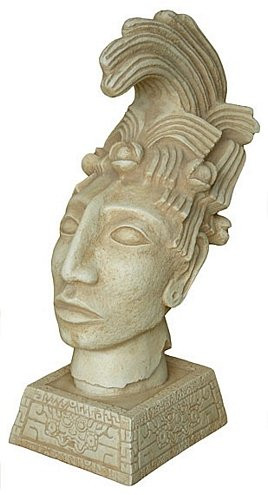 Head of King Pacal - Palenque, Mexico. 692 A.D. - Photo Museum Store Company