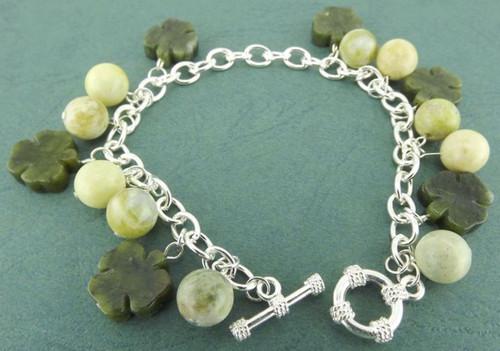 Connemara Marble Charm Bracelet - Photo Museum Store Company