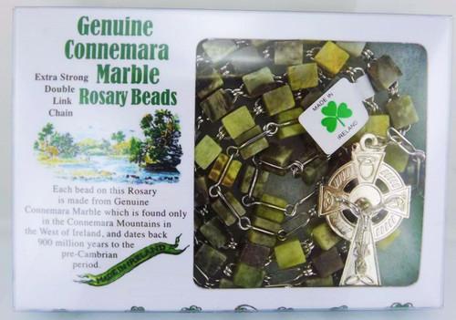 Connemara Marble Rosary - Photo Museum Store Company