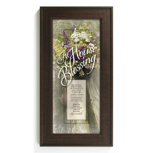 House Blessing-May Our Home  - Framed Print / Wall Art - Photo Museum Store Company
