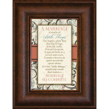 A Marriage Is - Mini Framed Print / Wall Art - Photo Museum Store Company