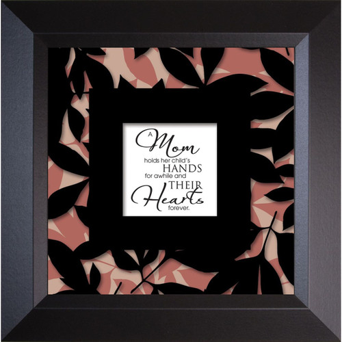 Mom Holds - Truth Squared - Framed Print / Wall Art - Photo Museum Store Company