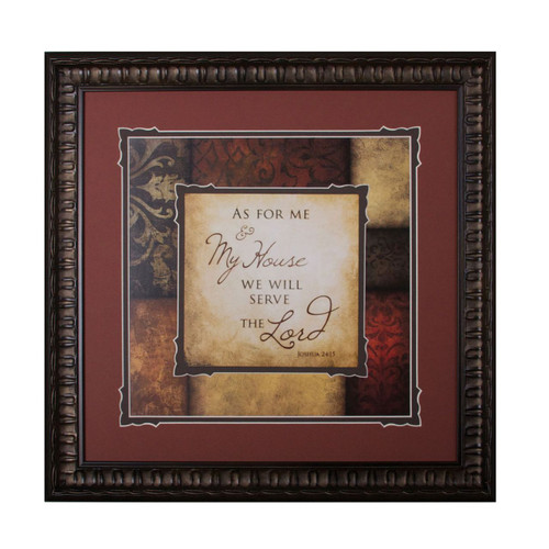 As For Me Framed & Double Matted Wall Art - Photo Museum Store Company
