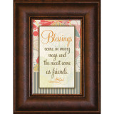 Blessings Come - Mini Framed Print / Wall Art - Photo Museum Store Company