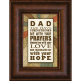Dad You Have - Mini Framed Print / Wall Art - Photo Museum Store Company