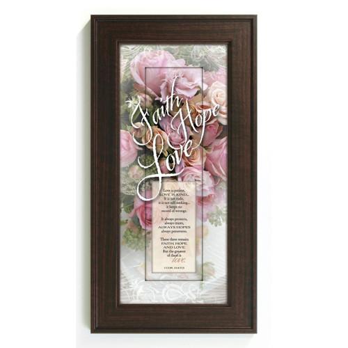 Faith Hope Love - Framed Print / Wall Art - Photo Museum Store Company
