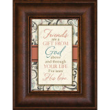 Friends Are A Gift - Mini Framed Print / Wall Art - Photo Museum Store Company